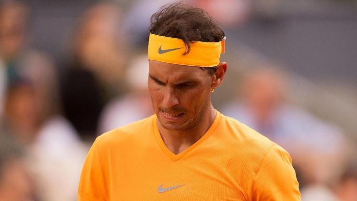 Rafael Nadal tersingkir di perempatfinal Madrid Terbuka. (Foto: Denis Doyle/Getty Images)