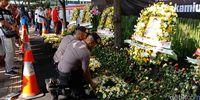Ini Tanda Simpati Warga ke Brimob Korban Teroris di Spanduk CFD