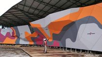 Penampakan Terkini Arena Panjat Tebing di Jakabaring