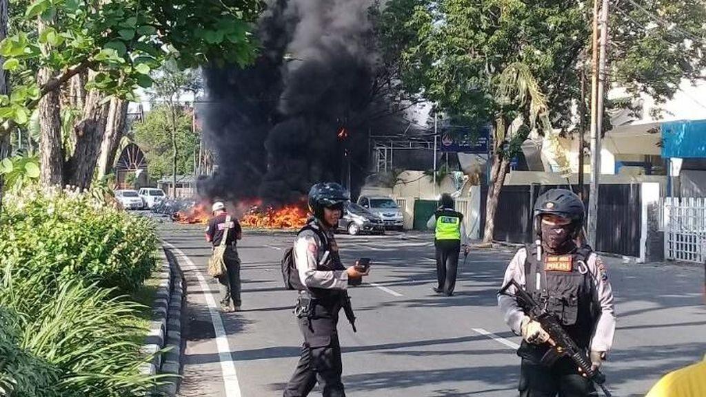 Ada Bom di Gereja Surabaya, Ganjar: #KamiTidakTakut