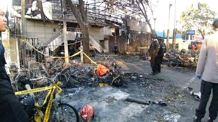 Lokasi bom di gereja Surabaya/File: detikcom