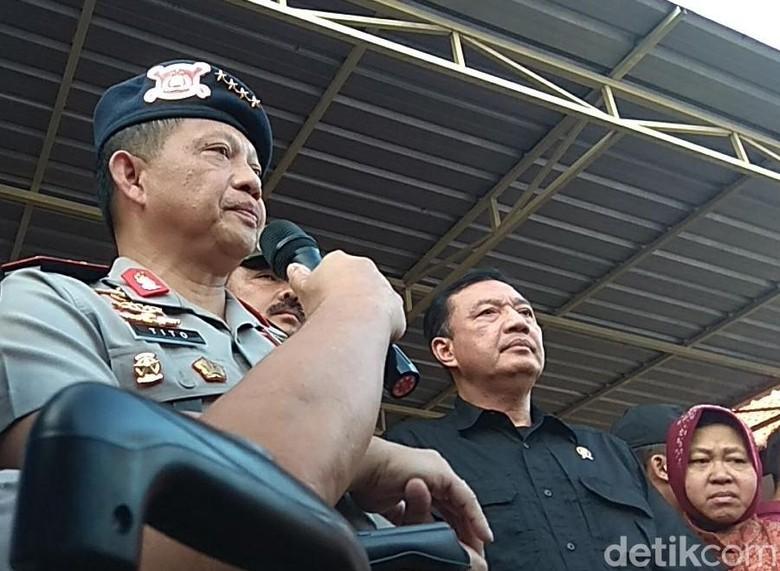 Kapolri: Pengebom Gereja Surabaya Diduga Satu Keluarga
