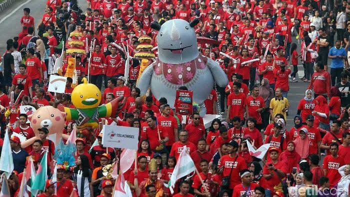 Selama Asian Games area ganjil-genap akan diperluas (Rengga Sancaya/detikSport)