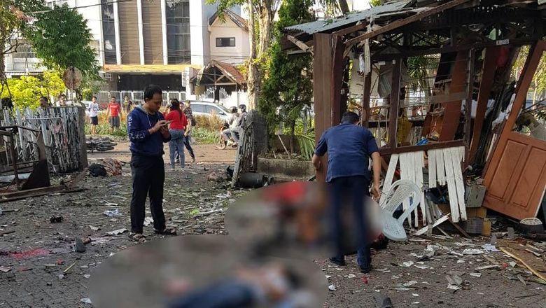2 Polisi Jadi Korban Teror Bom Gereja di Surabaya