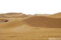 Ada legenda tersembunyi di gurun ini (Wahyu/detikTravel)