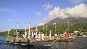 Mengenal Ritual Lufu Kie Keliling Pulau Tidore