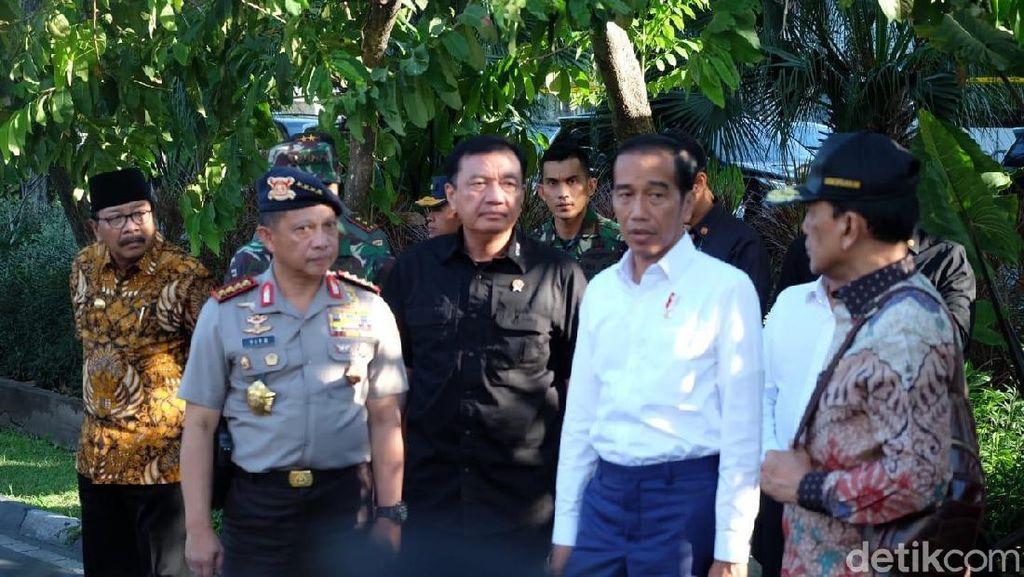 Jokowi: Saya Tak Habis Pikir, Anak Kecil Diberi Sabuk Bom
