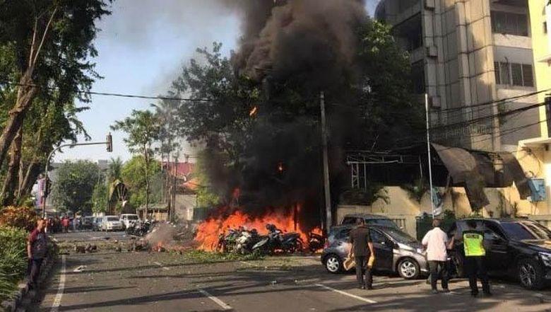 4 Korban Bom Gereja di RKZ Surabaya Diperbolehkan Pulang