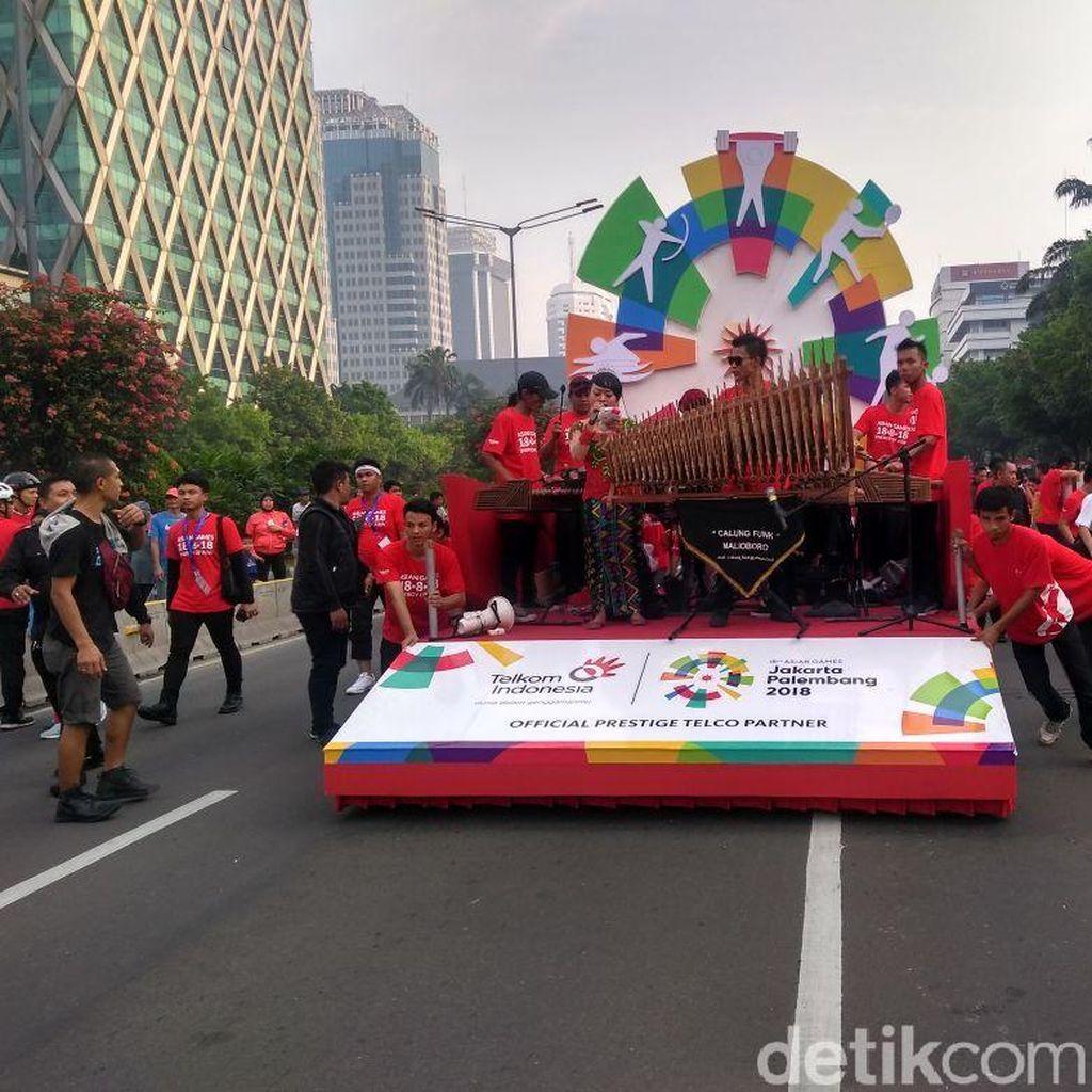 Jelang Asian Games, Lalu Lintas Jakarta Masih Jadi Perhatian JK