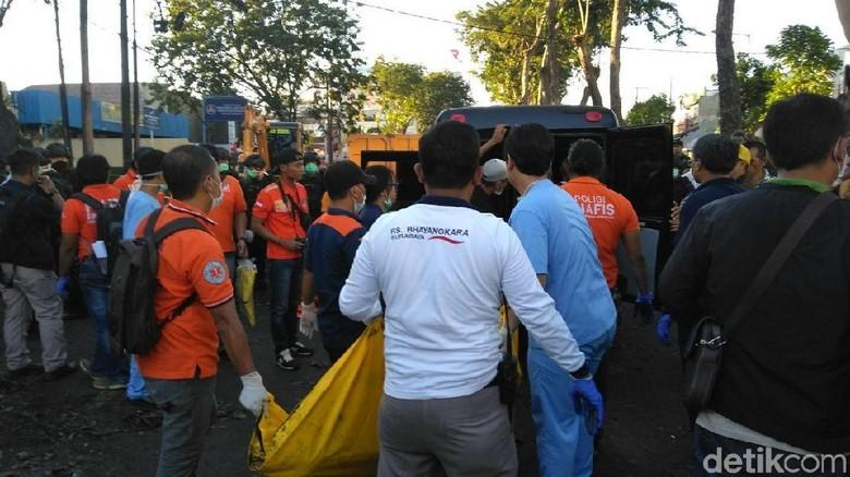 Empat Jenazah Dievakuasi dari Gereja Pantekosta Pusat Surabaya