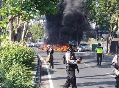 Soal Bom di Surabaya, Media Inggris: Amankah Traveling ke Indonesia?