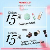 Cantik Memesona dengan Diskon Kosmetik di Transmart