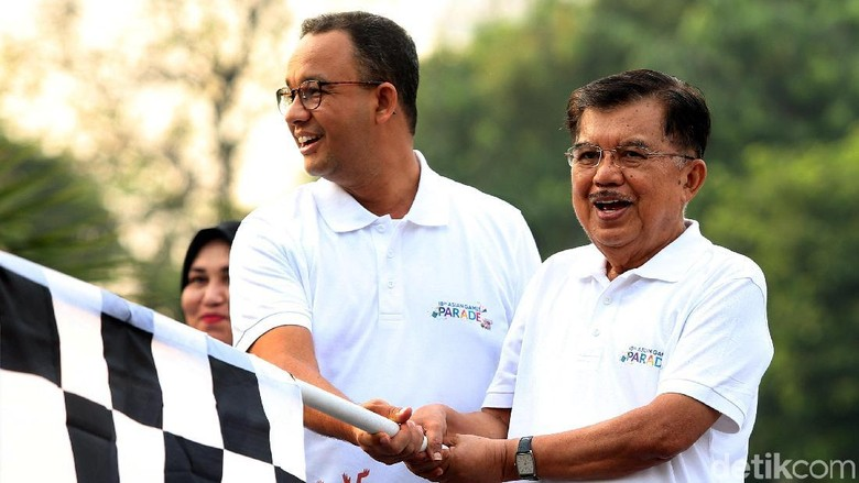 JK Lepas Peserta Parade Asian Games 2018 di Monas