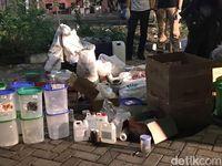 Penampakan Bahan Peledak dari Rumah Bomber Gereja Surabaya