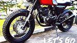 Honda MegaPro Scrambler, Cantik Juga