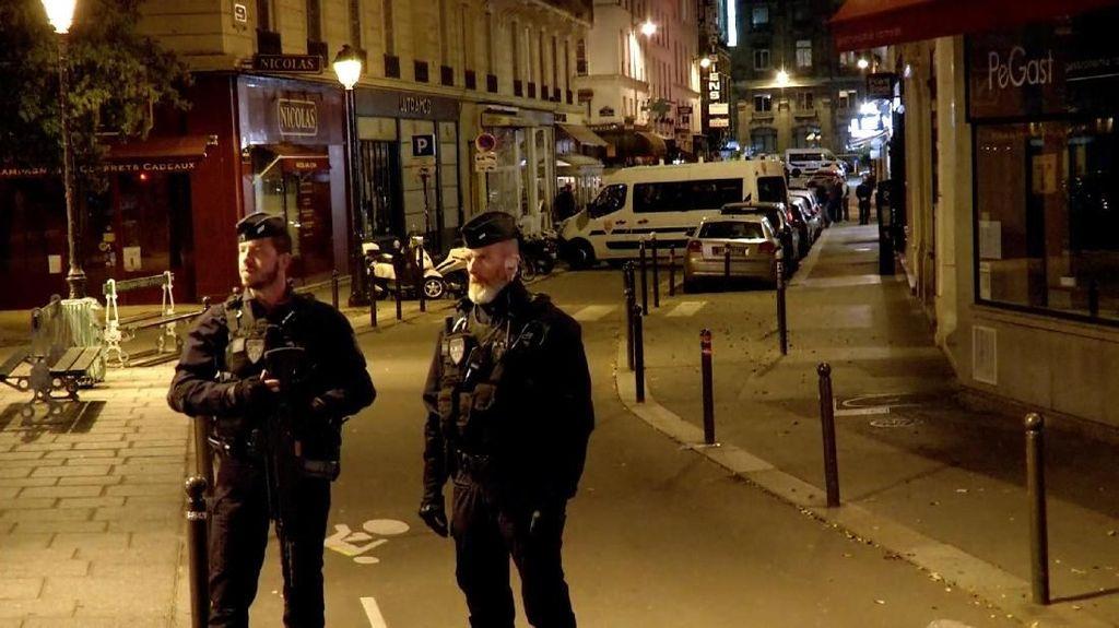 Penikaman di Paris, Polisi Selidiki Latar Belakang Pria Chechnya