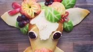 Bikin Gemas! Pancake Ini Dibuat Jadi Bentuk Hewan-hewan Lucu