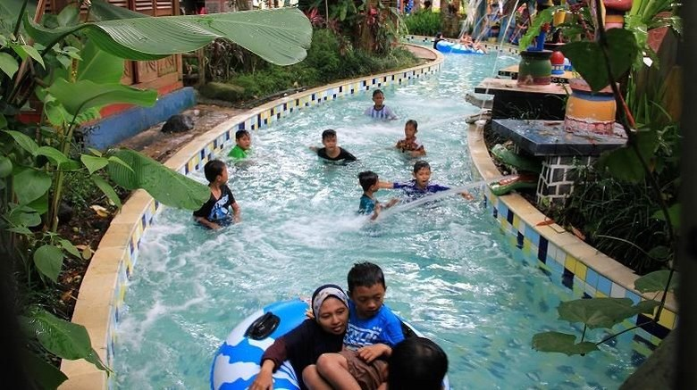 Ilustrasi The Jungle Water Adventure Bogor (The Jungle Waterpark)