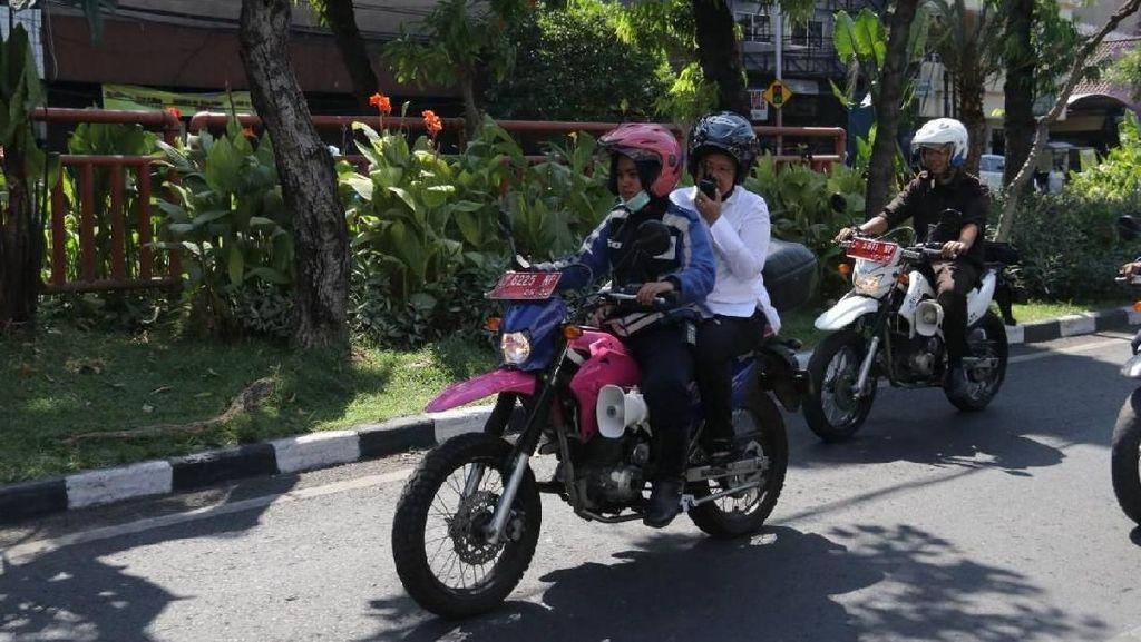 Video Risma Patroli Surabaya Pascaledakan Bom