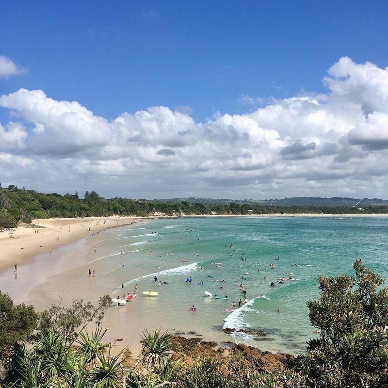 Dalam daftar pantai di Asia Pasifik yang paling sering masuk Instagram versi Globehunters, Byron Bay di Australia menempati posisi pertama dengan 1.871.230 foto (tracyakelly/byron.bay.nsw/Instagram)