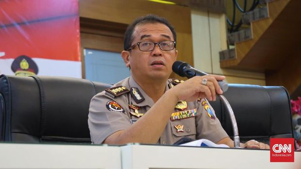 Head of East Java Regional Police Public Relations French Barung Mangera, Monday (14/5).