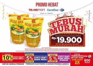 Tebus Murah Minyak Goreng di Transmart Carrefour Pekan Ini