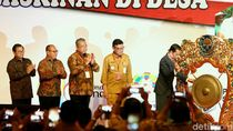 Presiden Jokowi Resmikan Rakornas Pemerintahan Desa