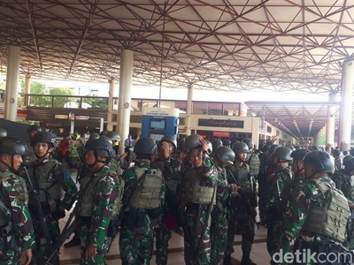 Bandara Juanda Siaga 1, Libatkan Ratusan Personel TNI AL