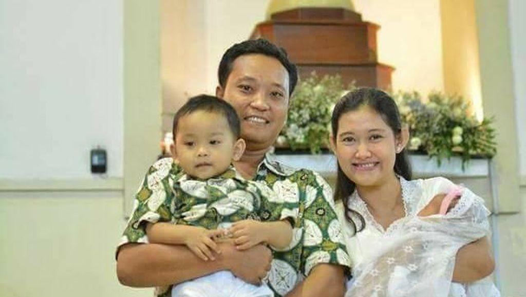 Status Pilu Istri Bayu yang Tewas karena Bom Gereja SMTB Ini Bikin Nangis