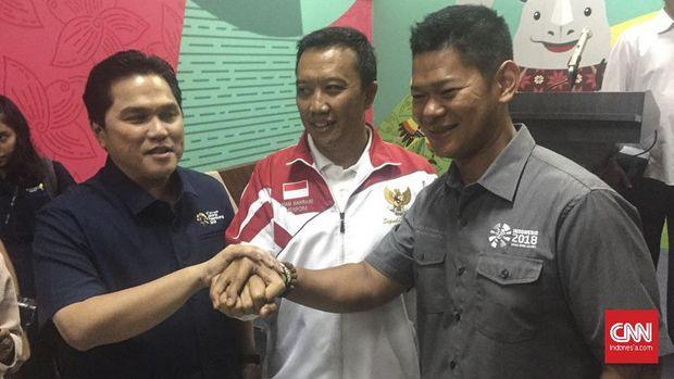 Menpora Imam Nahrawi memastikan Asian Games 2018 dan Asian Para Games 2018 berjalan sesuai jadwal.