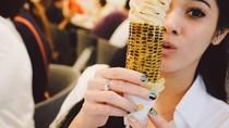 Keseruan  Naysila Mirdad Kulineran di Jepang hingga Gaya Makan Lee Min Ho