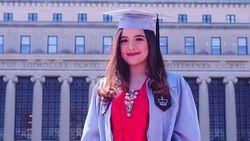 Selamat! Tasya Kamila Lulus Kuliah S2