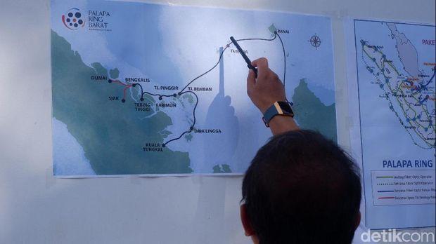 Palapa Ring Barat Rampung, Menkominfo Ajak Operator Perluas Jaringan