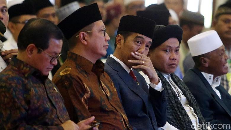 Jokowi Ungkit Bom di Surabaya di Acara Gerakan Bela Negara