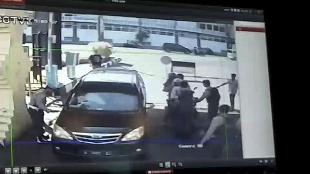 30 Menit Ceramah Perpisahan Pelaku Bom Polrestabes Surabaya