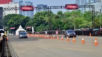 Di Zona Racing, para pengunjung dapat berkompetisi di beberapa jenis balapan, seperti gokart, slalom, hingga drag race. Istimewa/Honda.