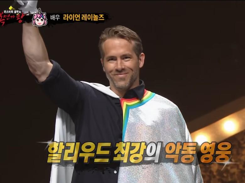 Tampil di King of Masked Singer Korea, Ryan Reynolds Bikin Heboh