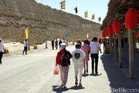 Benteng pertahanan dari zaman Dinasti Qing (Wahyu/detikTravel)