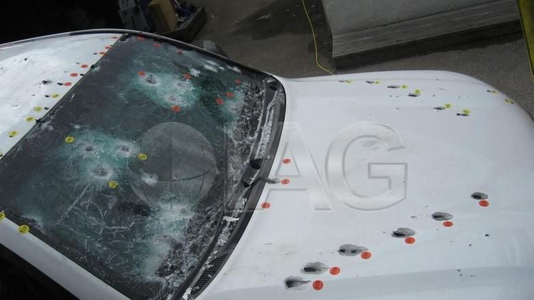 Ilustrasi mobil antipeluru. Foto: Dok. International Armored Group