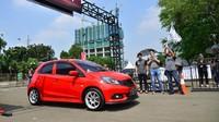 Ajang Honda Fastival dibagi menjadi beberapa zona aktivitas. Zona Racing dirancang untuk para pencinta kecepatan dan mereka yang ingin membuktikan skill dan mengadu performa mobilnya. Istimewa/Honda.