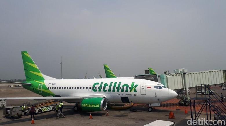 Foto: Ilustrasi pesawat Citilink (Shinta Angriyana/detikTravel)
