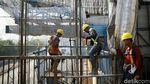 Jelang Puasa, Begini Progres Proyek Tol Layang Jakarta-Cikampek