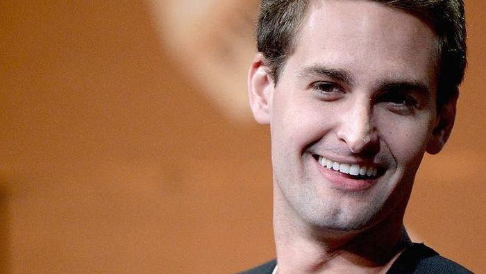Evan Spiegel. Foto: Getty Images