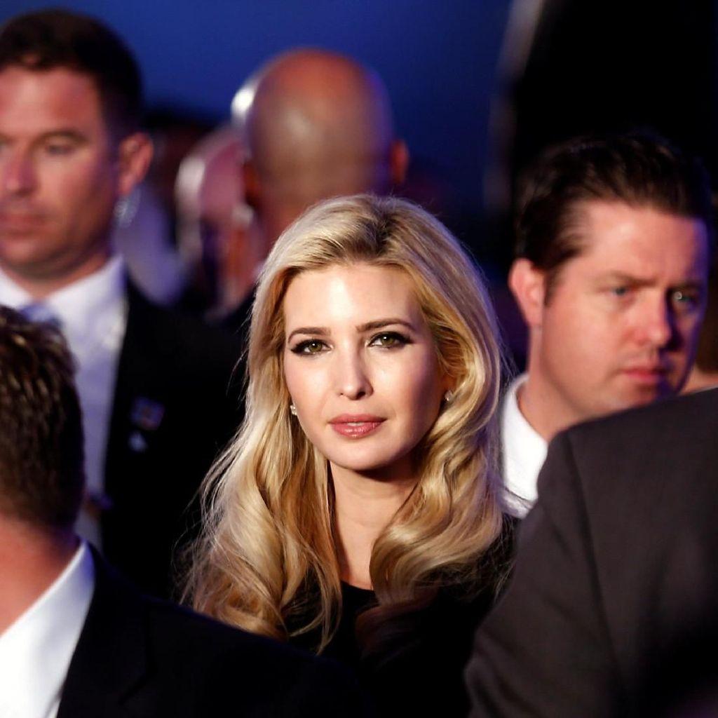Cute! Pose Ivanka Trump dan Anaknya Saat Kencan Makan Siang di Gedung Putih
