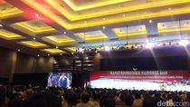 Jokowi Hadiri Rakornas Pemerintahan Desa di Kemayoran