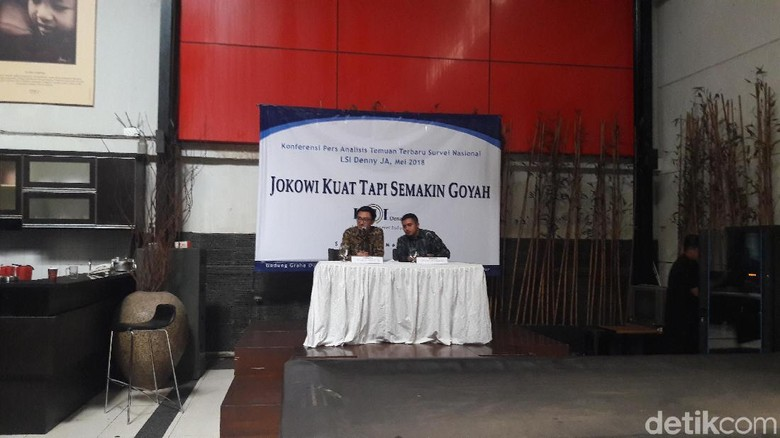 LSI: Jokowi Bisa Kalah Kalau SBY-Prabowo-Gatot Bersatu