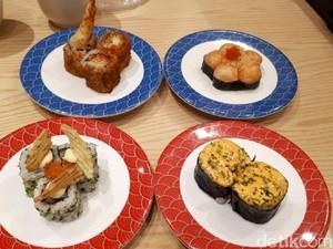 Tom Sushi: Jajan Flower Sushi dan Sushi Volcano Mulai dari Rp 15.000