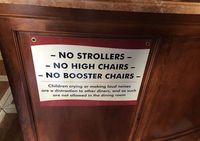 Waduh! Restoran Ini Tak Siapkan Kursi Khusus Anak dan Larang Anak Menangis