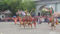 Meriahnya Warak Ngendhog Sambut Ramadan di Dugderan Semarang