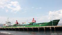 Untuk Pertama Kalinya Kapal Perintis Tol Laut Tiba di Banyuwangi